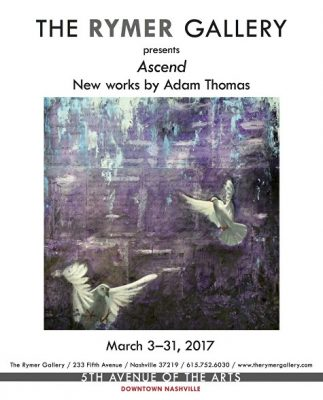 The Rymer Gallery presents new works by Adam Thomas