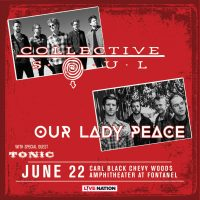 Collective Soul and Our Lady Peace with Tonic in Nashville