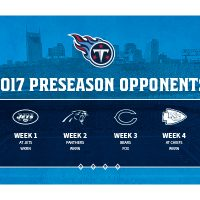 Preseason Week 3: Tennessee Titans vs. Chicago Bears