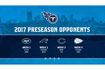 Preseason Week 3: Tennessee Titans vs. Chicago Bea...