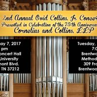 The 2nd Annual Ovid Collins, Jr. Concert Series