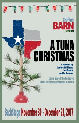 A Tuna Christmas in our BackStage at the Barn Thea...