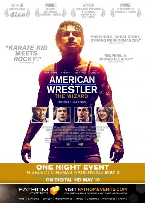 american wrestler the wizard presented by fathom events