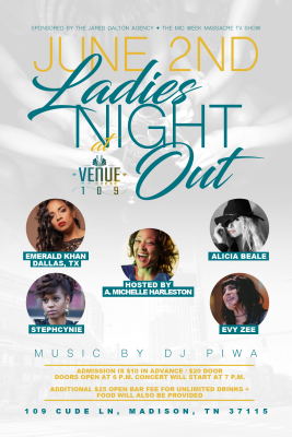 Ladies Night Out w/ Emerald Khan, Alicia Beale, Stephcynie and Evy Zee