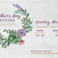 Mother's Day Dining at Gaylord Springs Golf Links