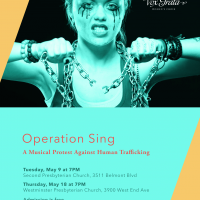 Operation Sing: Vox Grata Concert to Protest Human Trafficking