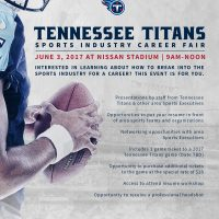 Tennessee Sports & Entertainment Career Fair