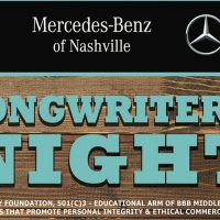 BBB Songwriters Night