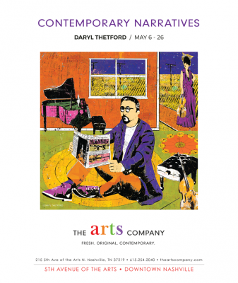 Daryl Thetford Contemporary Narratives at Arts Company