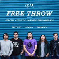 Free Throw In-store at Grimey's