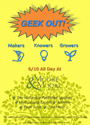 Geek Out! | Makers, Knowers, Growers