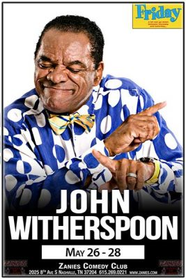 John Witherspoon at Zanies