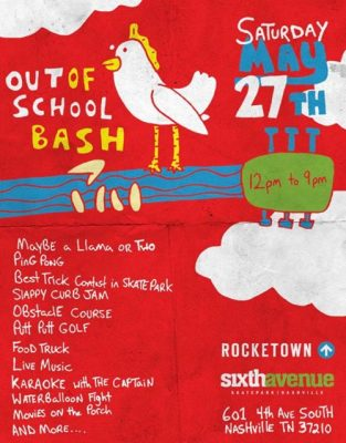 Rocketown's Out of School Bash in Nashville