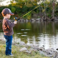 Special Needs Kids Fishing Rodeo