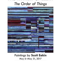 The Order of Things by Scott Eakin at Rymer Gallery