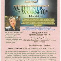 Authentic Worship Experience