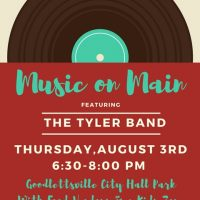 Music on Main | The Tyler Band