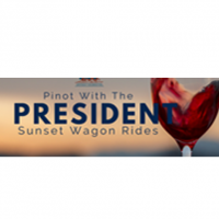 Pinot with the President: Sunset Wagon Rides