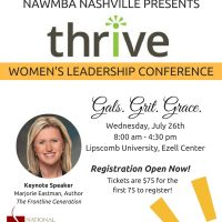 THRIVE Women's Leadership Conference