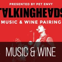 The Music of Talking Heads Music & Wine Pairing Performed by Pet Envy