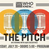 "WHO KNEW ""The Pitch"" An Evening with A&R Executives"