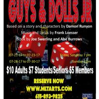 """Theatre production of """"Guys and Dolls"""""""