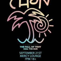CHON with The Fall Of Troy, Hail the Sun