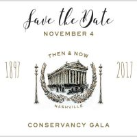 The Conservancy Gala | Then & Now