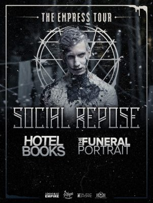 Social Repose, Hotel Books, The Funeral Portrait