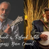 Alan Munde & Roland White Bluegrass Barn Conce...