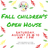 Fall Children's Open House with Global Education Center