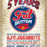 Fat Bottom's 5th Anniversary Party