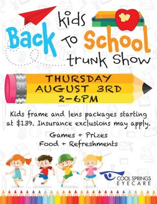 Kids Back to School Trunk Show