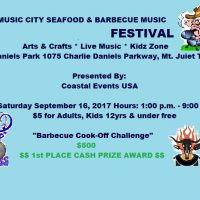 Music City Seafood & Barbecue Music Festival