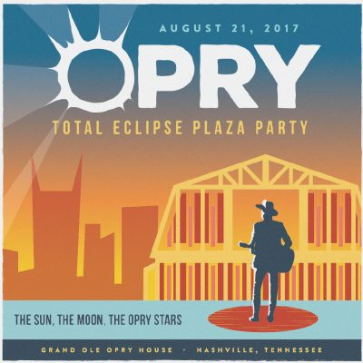 Opry Total Eclipse Plaza Party