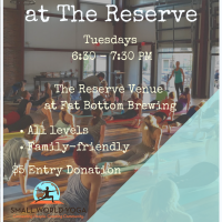 Yoga at the Reserve