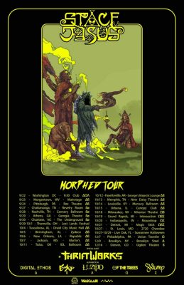Space Jesus | Morphed Tour w/ Thriftworks and Esse...