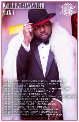 Big Boi | Daddy Fat Saxxx Tour