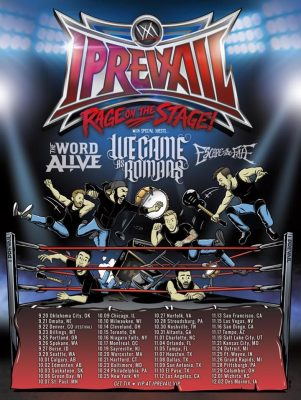 I Prevail | Rage on the Stage Tour