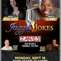 Jazz & Jokes featuring  AJ Jamal and Nicole Boggs