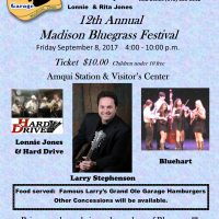 12th Annual Madison Tennessee Bluegrass Festival