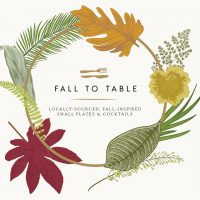 Fall To Table