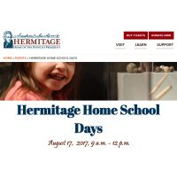 Hermitage Home School Days – Get Back to Nature!