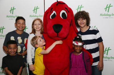 Holiday Inn and Scholastic Celebrate the Total Sol...