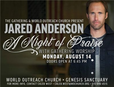 Jared Anderson with Gathering Worship