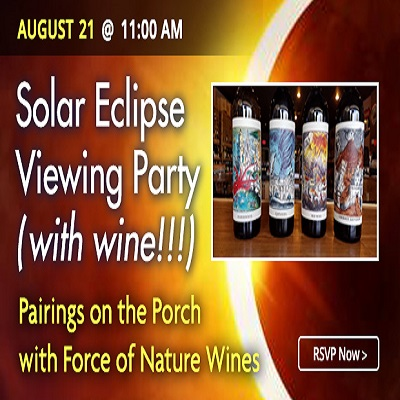 Solar Eclipse Day | Pairings on the Porch with For...