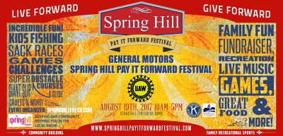 10th Annual Spring Hill Pay It Forward Festival