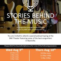 Stories Behind the Music: A Songwriter Podcast Series