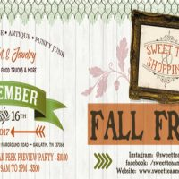 Sweet Tea & Shopping 2017 Fall Frenzy