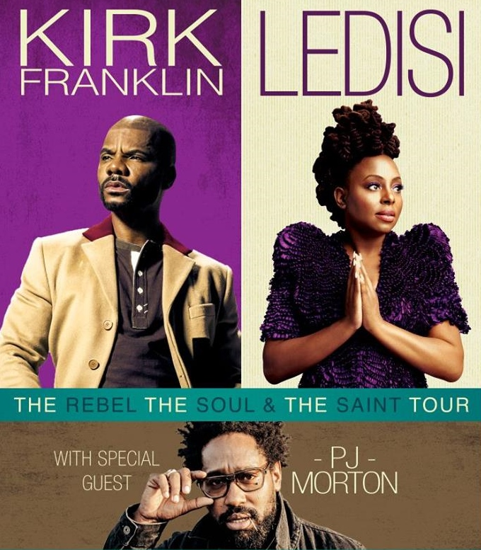 Kirk Franklin with Ledisi & Special Guest PJ Morton presented by ...
